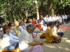 Today at Sarvodaya's Early Morning meditation