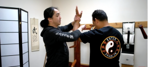 Figure 4 Wrist Lock from Chin Na
